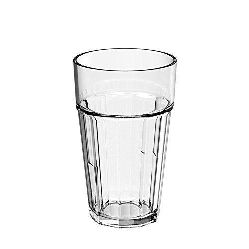 Vaso Agua-Zumo Irrompible Transparente (12 uds.)