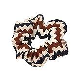 Fliyeong Frauen elastisches Haar Seil Ring Krawatte Scrunchie Pferdeschwanz Inhaber Haar Stirnband kreativ und nützlich