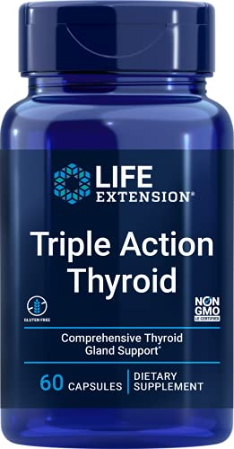 Life Extension Triple Action Thyroid Comprehensive...