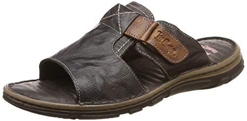 Lee Cooper Men's Brown Leather Footwear-9 UK/India (43 EU) (FGLC_8907788765706)
