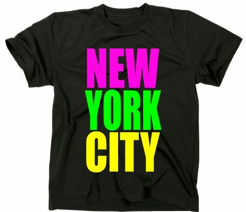 T-Shirt Glee City New York Tshirt desechar Lea Michele, Cory...