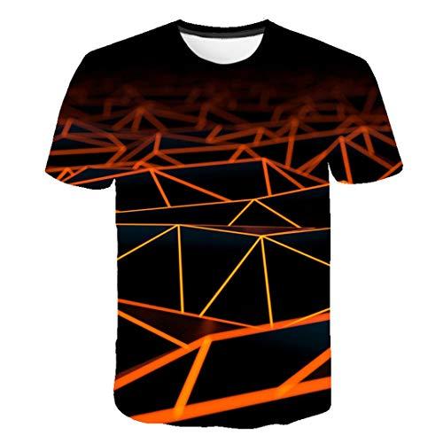 Sommer 3D T Shirt Männer Frauen Whirlpool Print lustige Sommer Top Hip Hop Hombr T-Shirt Picture Color8 S