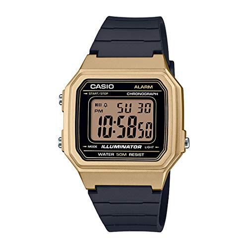 Casio W-217hm-9a Reloj Digital para Hombre Caja De Resina Esfera Color Negro