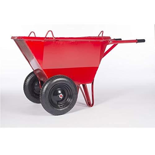 Carro chino 2 ruedas Indoostrial - 140 litros - Ruedas impinchables
