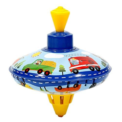 Surakey - Spinner de metal, zumbador de 14 cm, pequeño juguete para niños a partir de 18 meses