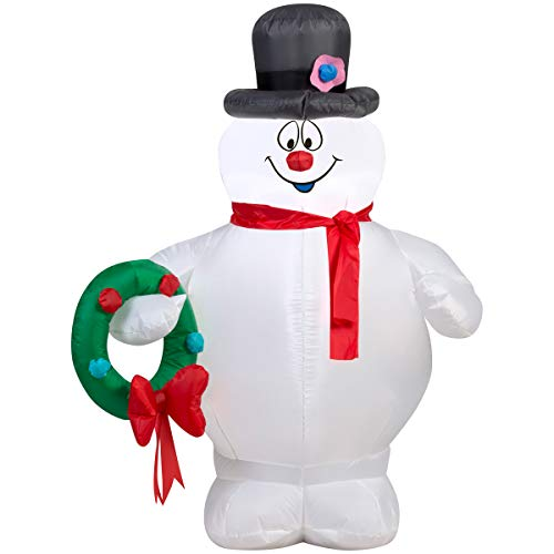 Gemmy 39909 Frosty The Snowman Inflatable, Multi