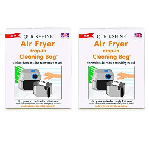 Quickshine Bolsas de limpieza para freidora de aire (2 paquetes de 2)