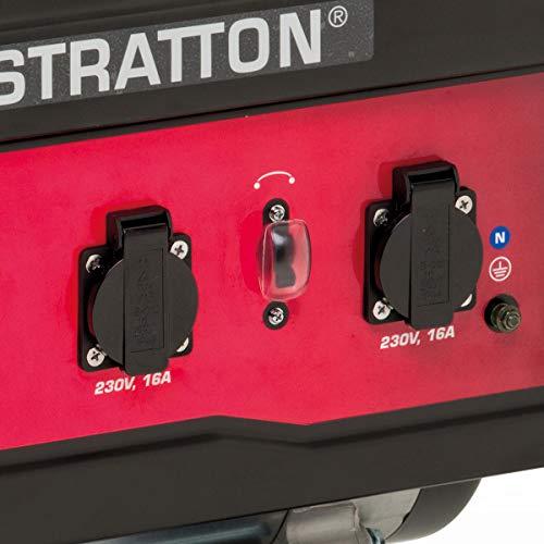 Briggs and Stratton SPRINT 2200A Generador portátil de gasolina - Potencia en marcha de 1700/Potencia inicial de 2125, 030671A