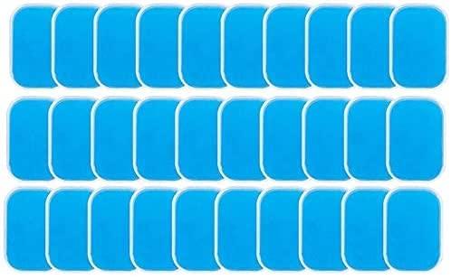 TYSJL Gel Pad, Cuscinetto per Sostituzione del Gel elettrodo, Pad Gel, Accessori per Allenatore per Muscoli Addominali