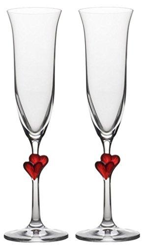 Les 2 flûtes à champagne L'Amour