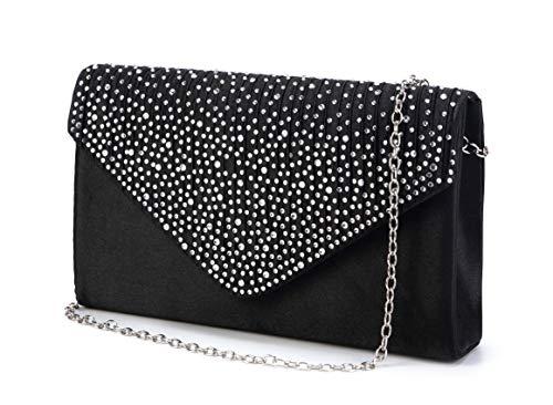 Nodykka Purse and Handbags for Women Shoulder Crossbody Bags Evening Envelope Party Bridal Clutch Purse