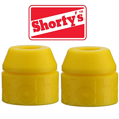 Shorty 's gelb doh-doh Buchsen 92 A Medium Soft (2 Sets) für Skateboards & Longboards