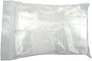 XSY ジップロック袋 ポリプラスチック製クリアジッパーバッグ 非常に厚い 小型サイズ 厚さ 4 Mil アクセサリー包装 30mm x 40mm 500