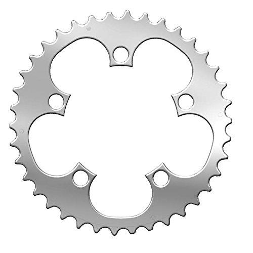 Specialites TA T.A platenspeler, compact, 38 tanden, diameter 94, zilverkleurig, 5 stuks