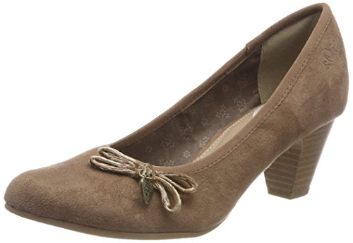 s.Oliver Damen 22410-31 Pumps, Braun (Pepper 324), 39 EU