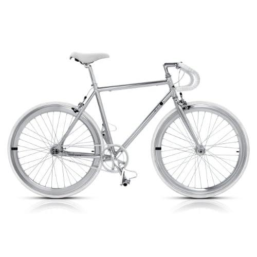 MBM Bicicletta Metal Fixed Scatto Fisso in Alluminio (Telaio 53)