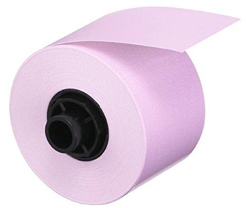 CASIO Labemo XA-18PK1 Papier-Schriftband selbsthaftend 18 mm x 5,0 m schwarz auf blass pink