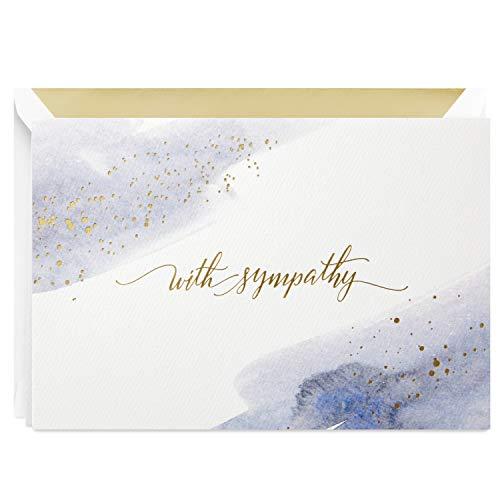 Hallmark Signature Sympathy Card (Many Thoughts and Prayers)