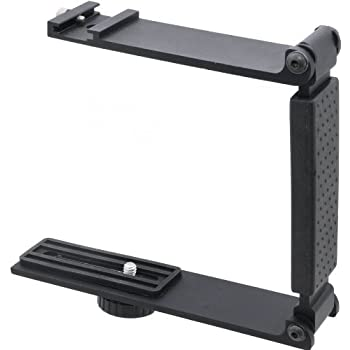 Accommodates Microphones Or Lights Aluminum Mini Folding Bracket for Sony HDR-CX380