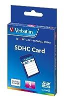 三菱ケミカルメディア Verbatim SDHCカード 4GB Class4 SDHC4GYVB1