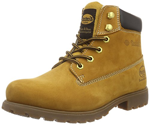 Dockers by Gerli Herren 35VE106 Combat Boots, Gelb (golden tan 910), 44 EU