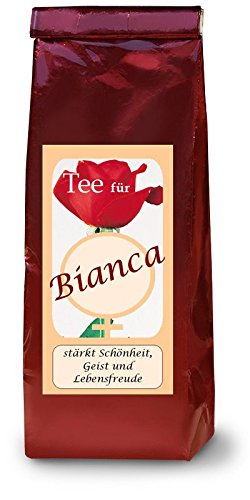 Bianca; Namenstee; Früchtetee