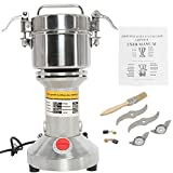 HYDDNice 500g Grain Mill Grinder 2500W 50-300 Mesh 36000RPM High Speed Electric Stainless Steel Grinder Spice...