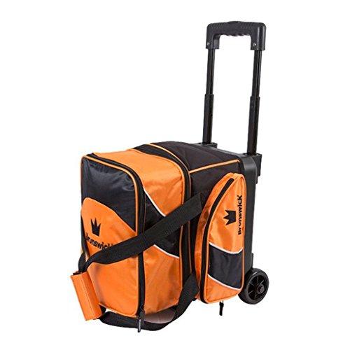 Brunswick Edge Bowlingtasche mit Rollen, Orange