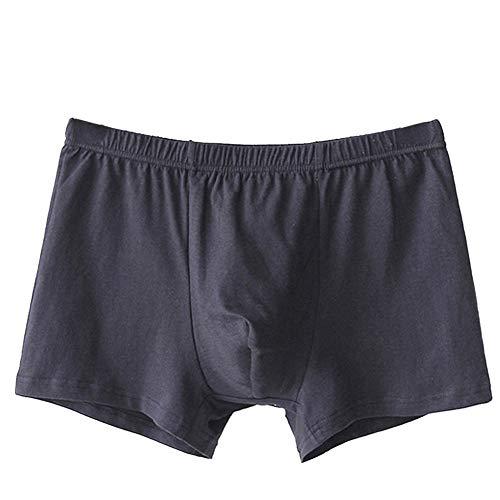Caleçon Homme Coton - Boxer Men sous-Vêtements MâLe ÉLasticité éLevéE Confortable Et Respirant Classiques Slip Slip ÉTudiants Sexy Slip de Bain Jeunesse Classique Rétro Pantalon de Pyjama