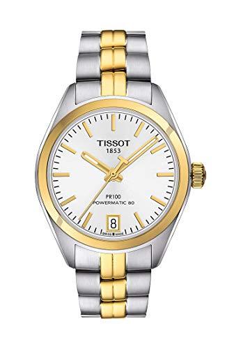 Tissot Damen-Uhren Analog Automatik, Gangreserve ca. 80 Std. One Size Edelstahl 86948583