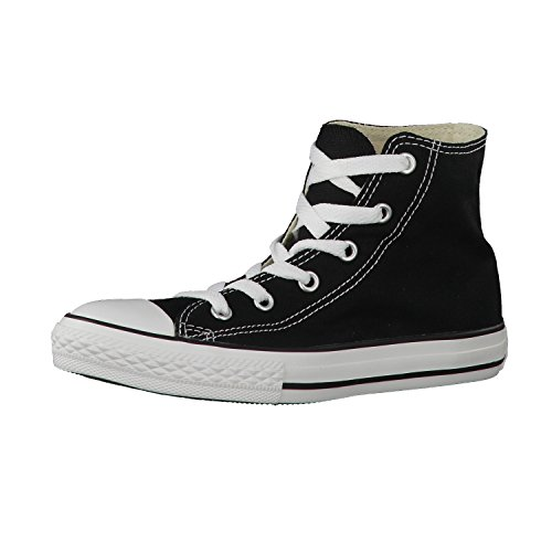 Converse Unisex-Kinder Ctas-Hi-Black-Youth Hohe Sneakers, schwarz, 33.5 EU