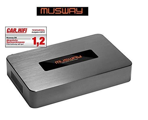 Mustway DSP-AMP D8v2 Digitale 8-kanaals 8-kanaals klasse D versterker met 10-kanalen DSP 600 WATT RMS