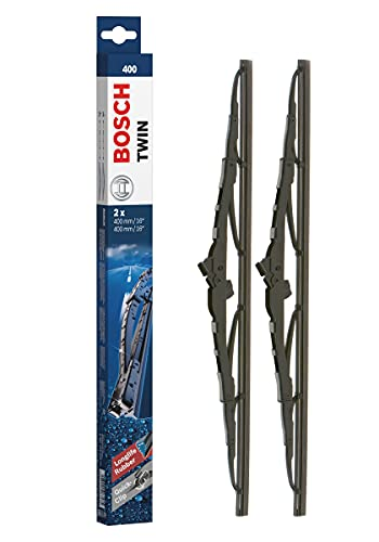 Bosch Scheibenwischer Twin 400, Länge: 400mm/400mm – Set für Frontscheibe