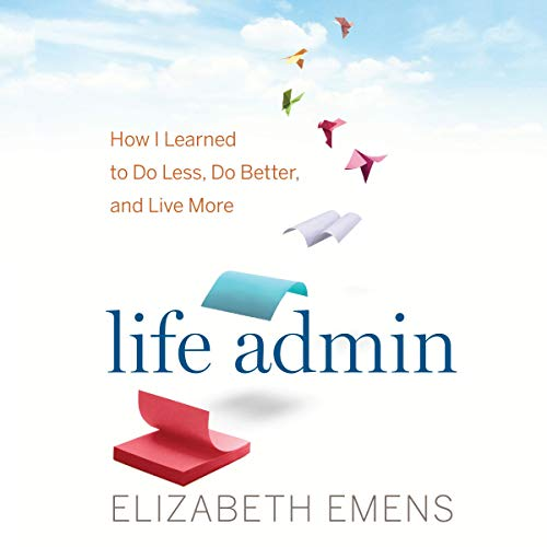 Life Admin audiobook cover art