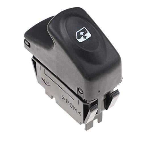 YJDTYM 6 Pines Car Electric Window Control Interruptor/Ajuste para Renault Clio II/Ajuste para Megane I BA0 BA1 EA0 EA1 DA0 KANGOO KC0 KC1 FC0 FC1 7700429998