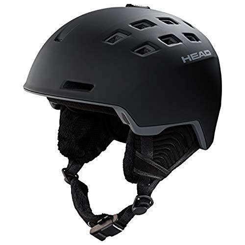 Head Casque de Ski/Snowboard Rev Unisexe, Noir, XL/XXL