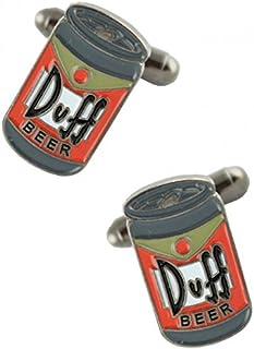 Gemelos Cerveza Duff Simpsons Cufflinks
