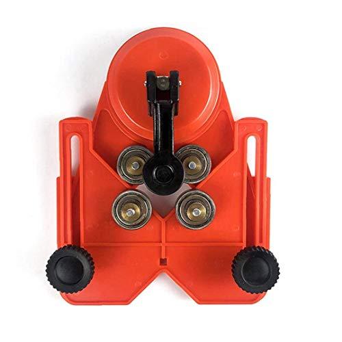 Baldosas de cerámica agujero localizador Taladro Bit agujero consideró Guía de calar accesorio de vacío de la succión de pared De suelo herramienta de medición