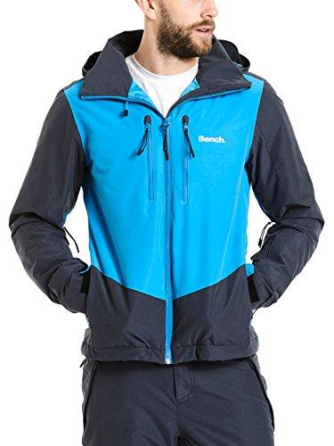 Bench Herren BPMK000022 Jacket, Dark Navy Blue, M