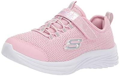 Skechers Kids Girls' Dreamy Dancer Sneaker, Light Pink, 6 Medium US Toddler