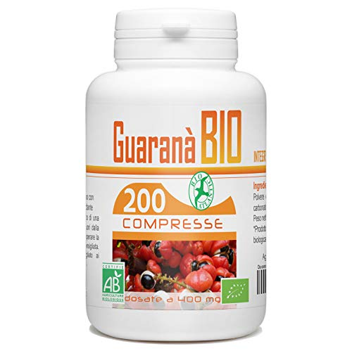 Guarana Bio 400mg - 200 compresse