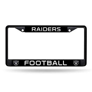 Rico Industries NFL Las Vegas Raiders Standard Chrome License Plate Frame 6 x 12.25-