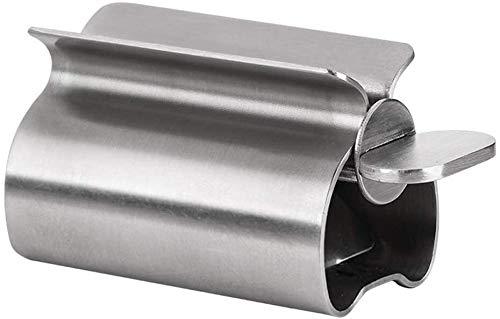 TGFVGHB Dispensador de jabón de acero inoxidable para pasta de dientes, cremas para baño, cocina