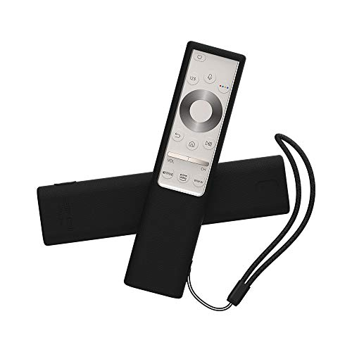 SIKAI CASE Guscio Custodia Protettiva Compatibile con 2019 Samsung Q7 / Q8 / Q9 Telecomando BN59-01311B / BN59-01311G of Netflix Prime Rakutentv Butto, Anti-Scivolo Copertura Protettiva Cassa (Nero)