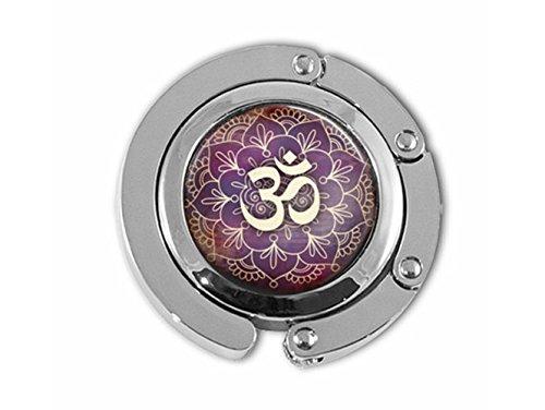 Schöne Löwenzahn OM Symbol Aum Namaste Yoga Tasche Halter Regenschirm Aufhänger