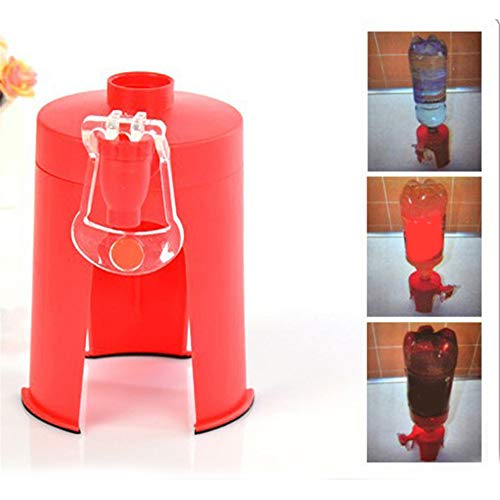 Inverted Drinking Fountains Carbonated Drinks Dispenser,Creative Sprite Coke Inverted Water Fountain Beverage Maker ,Water Device Beverage Bottle Switch Water Dispenser Inverted