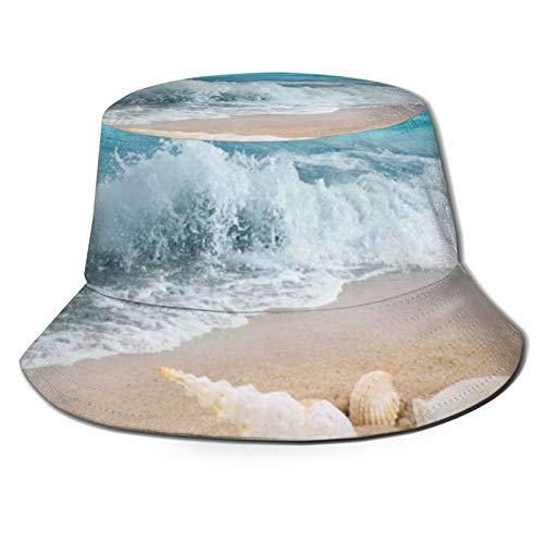hulili Sombrero plegable portátil para el sol, impermeable, plegable, impermeable, plegable, resistente a los rayos UV y al sol, para pesca, caza, senderismo, camping, playa, golf, color negro