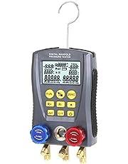 Kecheer Manómetro digital refrigeración HVAC,Medidor de refrigerante,Manometros Manifold de refrigeración digital
