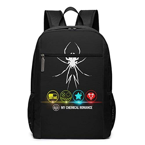 YOLOP My Ch-emical Ro-mance Business Travel Water Resistant Bookbag Fits Under 17 Inch Laptop