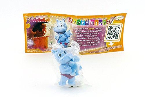 Kinder Überraschung, Happy Hippo mit Beipackzettel (Die Geburtstagsparty 40 Jahre